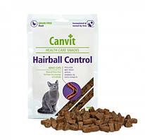 Canvit Hairball Control (Канвит Хейрболл Контрол) напіввологе функціональне ласощі для кішок 100 г