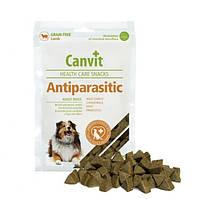 Canvit Antiparasitic (Канвит Антипараситик) напіввологе функціональне ласощі для собак 200 г