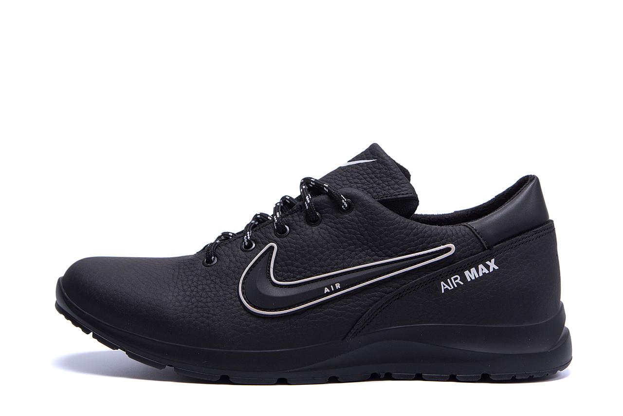 Мужские кожаные кроссовки Nike Street Style