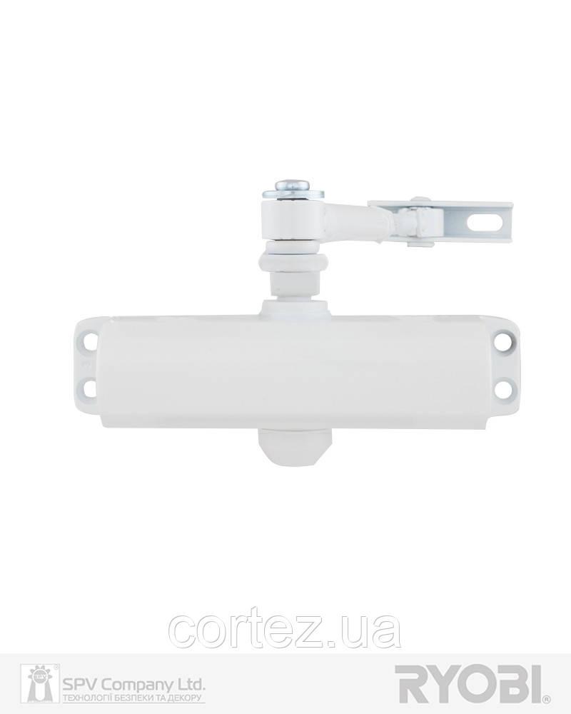 Дотягувач накладний RYOBI *9900 9903 GLOSSY_WHITE STD_ARM EN_2/3 до_65кг 965мм
