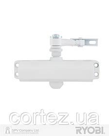 Доводчик накладной RYOBI * 9900 9903 GLOSSY_WHITE STD_ARM EN_2 / 3 до_65кг 965мм