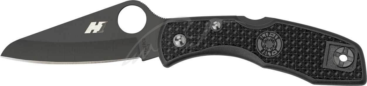 Нож Spyderco Salt 1 black blade plain