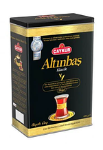 Чай черный, мелколистовой, турецкий Altınbaş Caykur Klassik 400 gr, подарочный