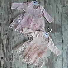 Оптом Боди-Платье Пышное для Малышей 3-12 мес. Турция