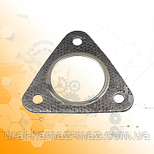 Прокладка вихлопної системи (з метав. кільцем) трикутна 4320Я-1203165