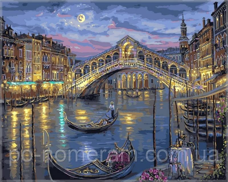 Раскраска по номерам DIY Babylon Большой канал Венеции худ Финале, Роберт (VPS041) 50 х 65 см