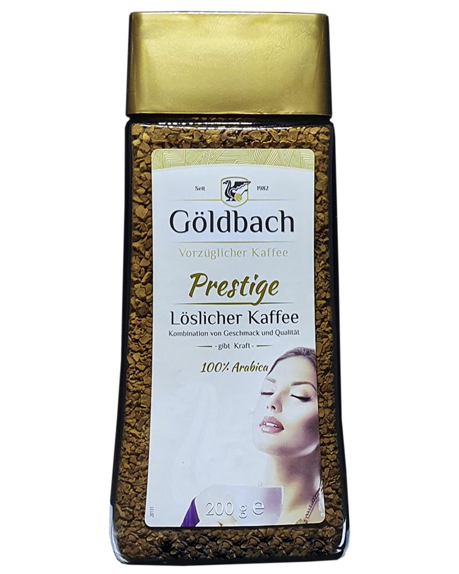 Кофе растворимый Goldbach Prestige, 200г