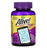 Nature's way Alive! комплекс витаминов для девочки подростка, 50 шт, фото 1