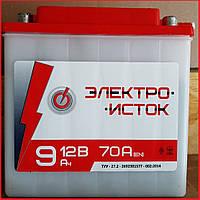 Мото аккумулятор Электроисток 6мтс 9 С 12V 9Ah