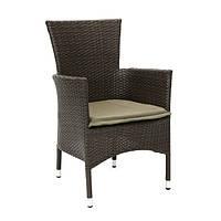 Кресло Каролина, кресло плетеное, кресло из искусственного ротанга