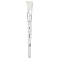 Пензель для масок бел ручка 1 шт 17.5 см плоск YMK -04 Код 6893