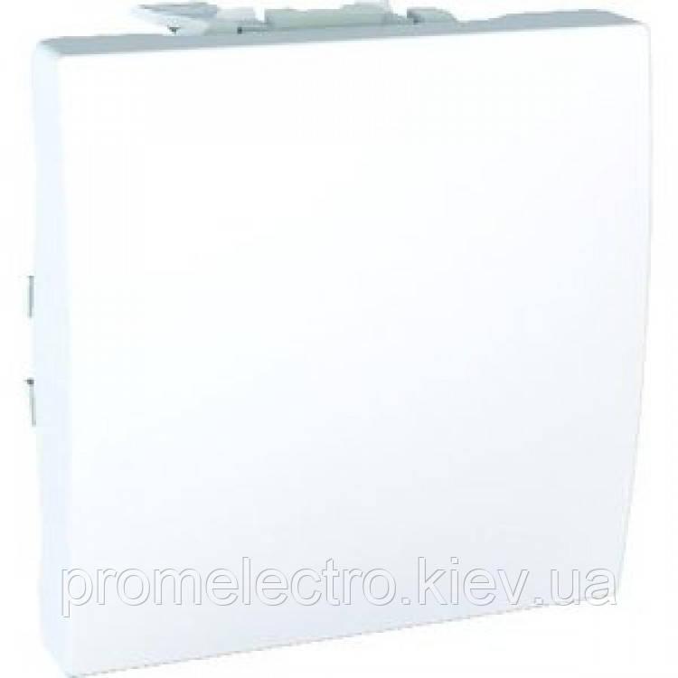 Вимикач Schneider-Electric Unica 1-клавішний білий (MGU3.201.18)