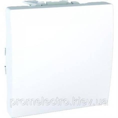 Вимикач Schneider-Electric Unica 1-клавішний білий (MGU3.201.18), фото 2