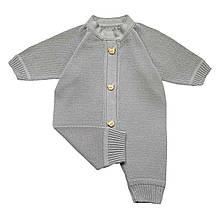 Человечек серый для новорожденного