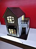 Ляльковий будиночок для ляльки Лол білий + Меблі В ПОДАРУНОК !!!, фото 2