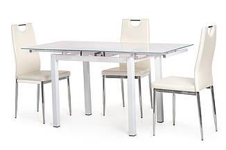 Стол Т-231-8 белый 90/150 от Vetro Mebel , стекло