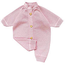Человечек светло-розовый для новорожденного