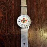 Годинники наручні з логотипом ВМС (Військово-морські сили України), фото 4