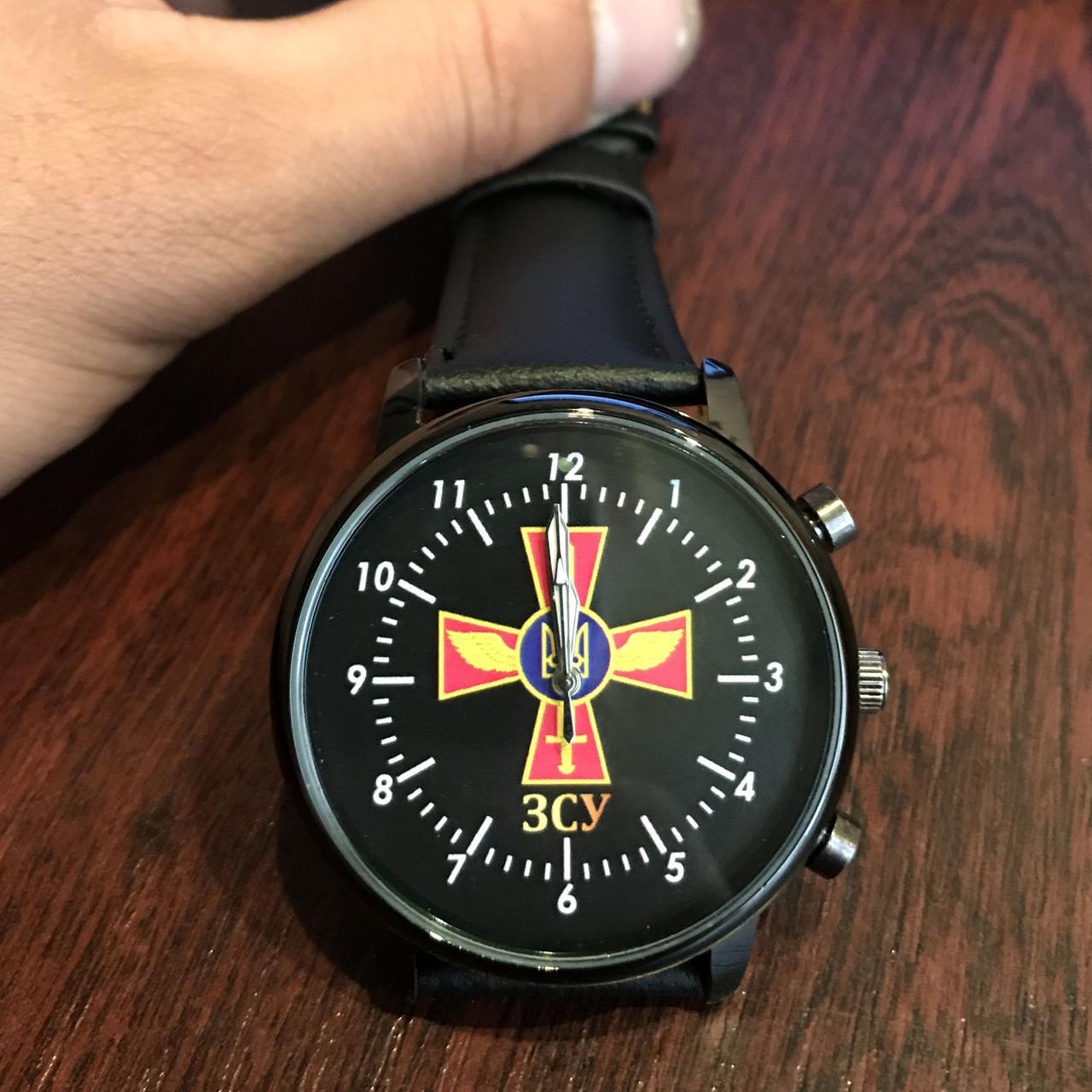 Часы наручные с логотипом Повітряні сили України