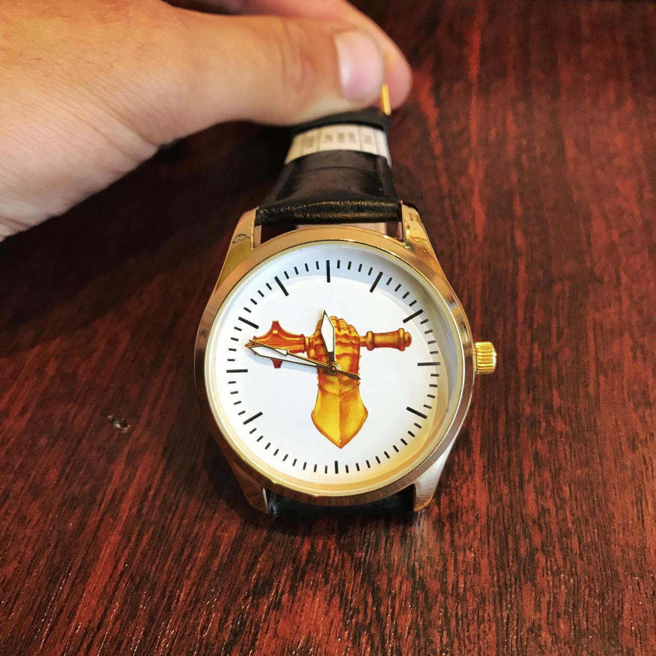 Часы наручные с логотипом Танкові війська України