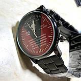 Годинники наручні з логотипом Бригада імені Чорних Запорожців, фото 3