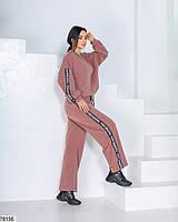 Оригінальний спортивний костюм з брюки вільного крою і штанів з 42 по 48 розмір, фото 7