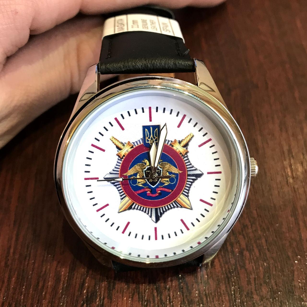 Часы наручные с логотипом ДКВС (Державна кримінально-виконавча служба України)
