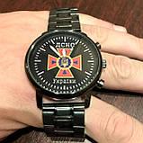 Годинники наручні з логотипом ДПСУ (Державна прикордонна служба України), фото 4