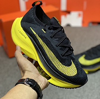Мужские кроссовки Nike Air Zoom Alphafly NEXT Black Yellow