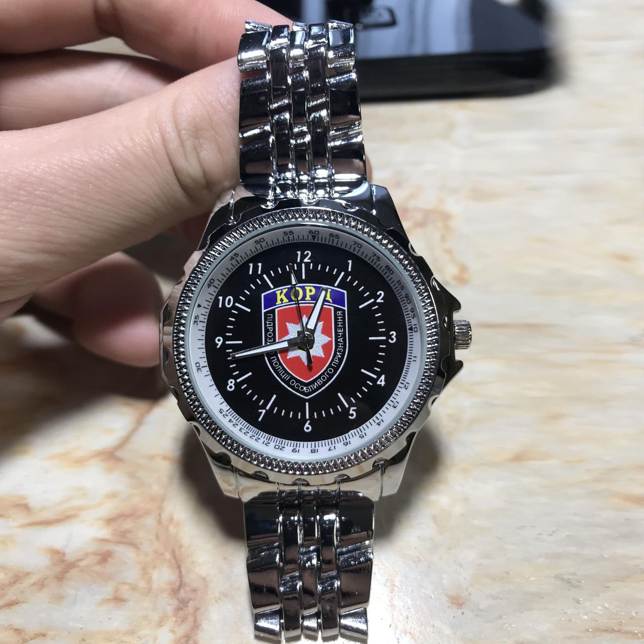 Годинники наручні з логотипом КОРД (Корпус Оперативно-Раптової Дії)