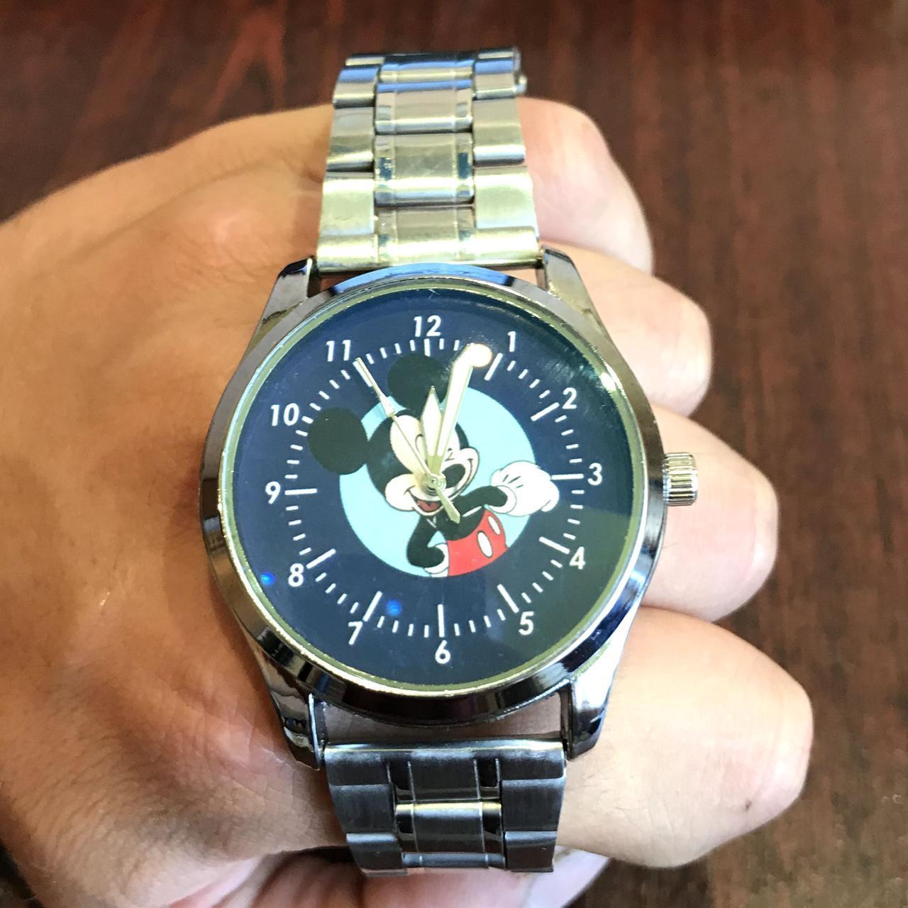 Часы наручные с логотипом Микки Маус