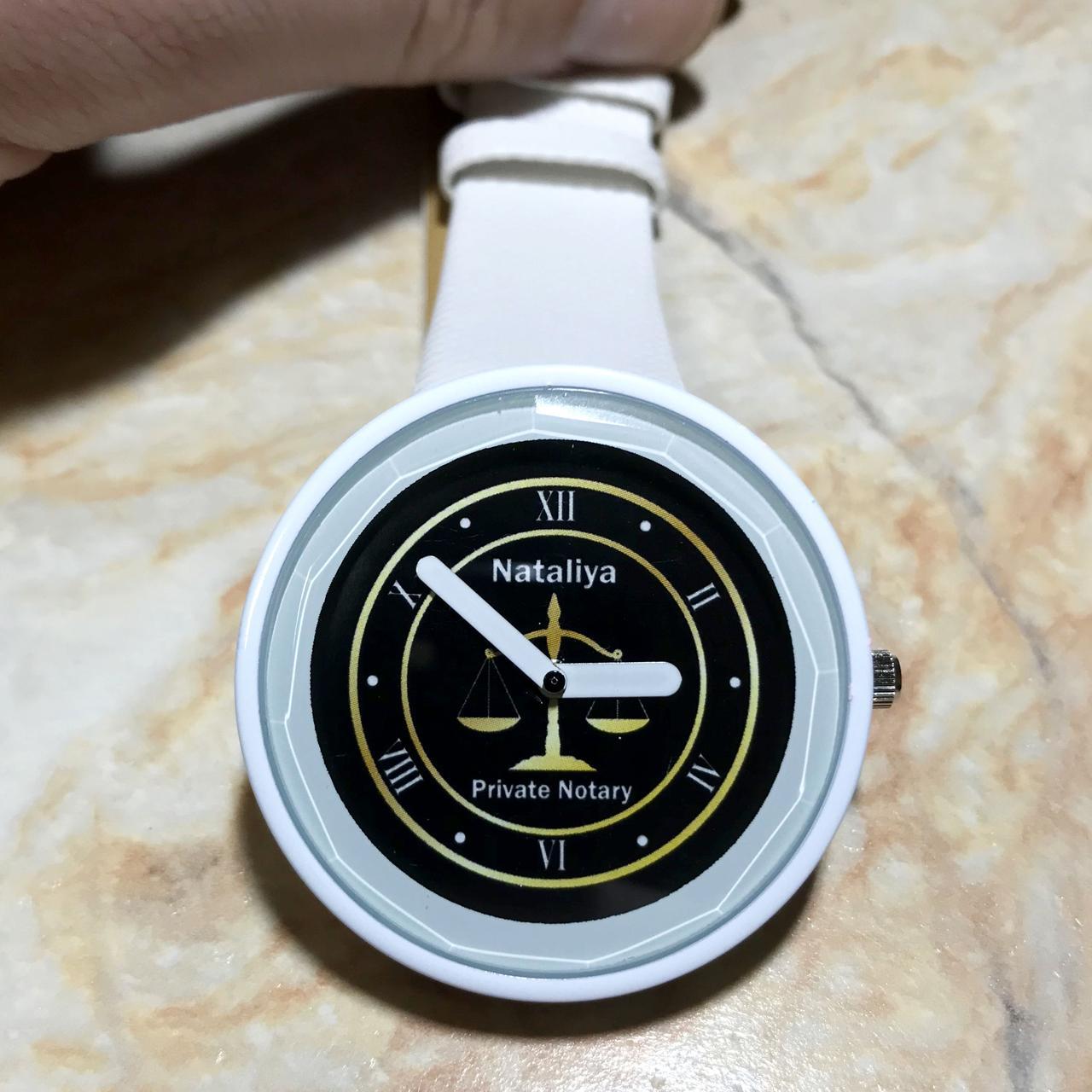 Годинники наручні з логотипом Нотаріус