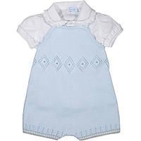 Костюм : Рубашка, комбинезон FOQUE Bebe (5301) Голубой