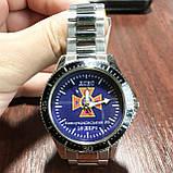Годинники наручні з логотипом ДСНС (Державна служба України з питань надзвичайних ситуацій), фото 3