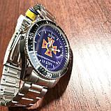 Годинники наручні з логотипом ДСНС (Державна служба України з питань надзвичайних ситуацій), фото 4