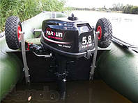 Колеса для лодки транцевые