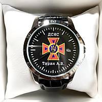 Годинники наручні з логотипом ДСНС (Державна служба України з питань надзвичайних ситуацій), фото 1