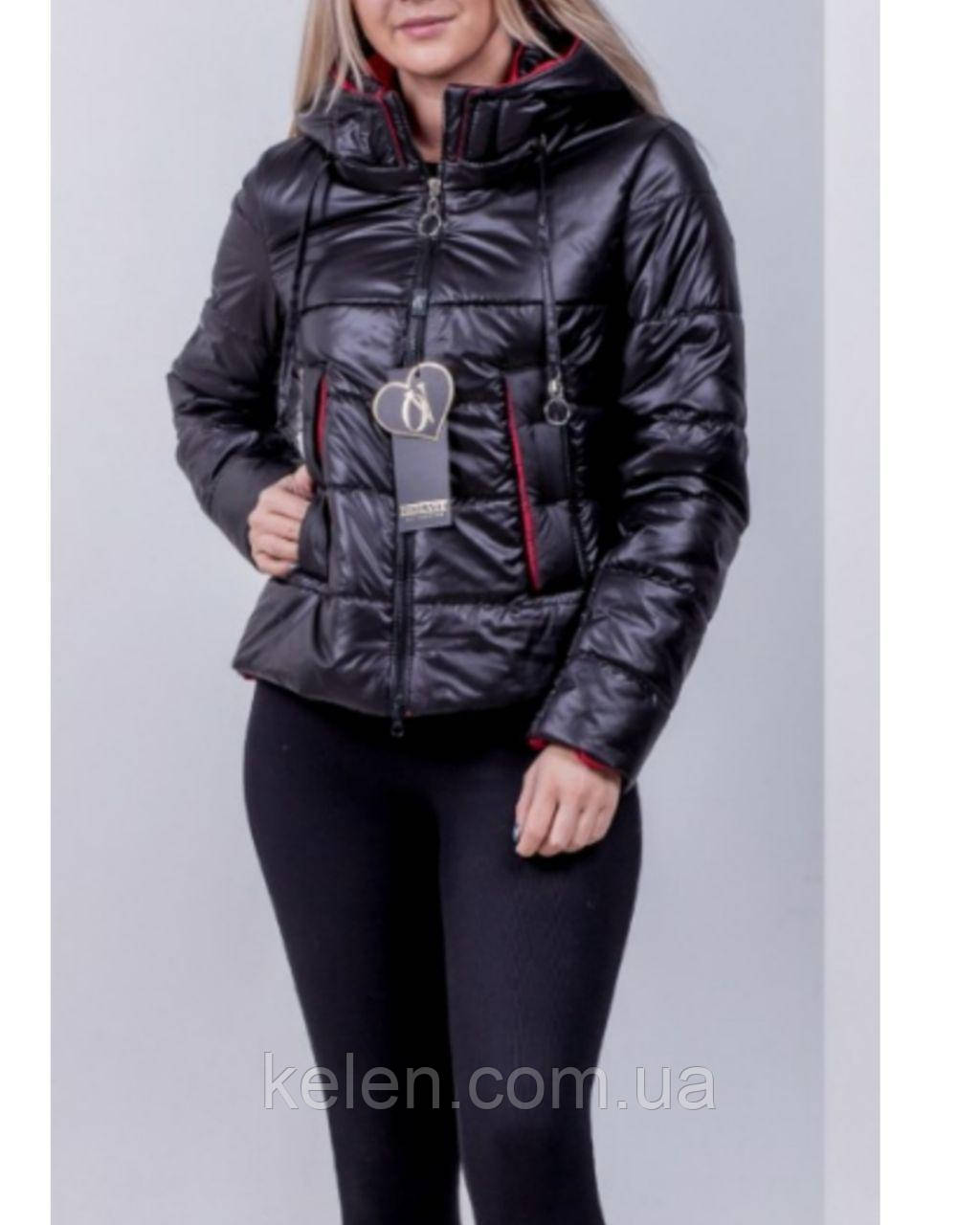 Куртка демісезонна колір темний хакі 42-44-46 розміри