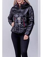 Куртка демісезонна колір темний хакі 42-44-46 розміри, фото 1