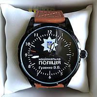 Часы наручные Q&Q с логотипом Національна поліція України, фото 1