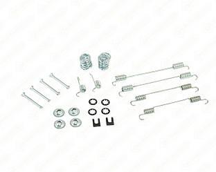 Комплект пружинок барабанных тормозных колодок (задние) на Renault Kangoo 1997->2008 - ASAM - 33840