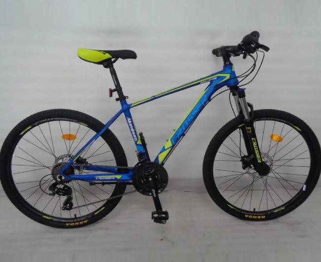 Горный велосипед 26 дюймов Crosser MT-036 рама 17 зеленый