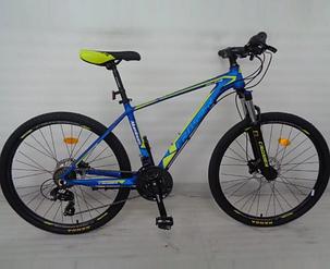 Горный велосипед 26 дюймов Crosser MT-036 рама 17 зеленый, фото 2
