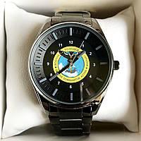 Часы наручные Q&Q с логотипом Розвідка України (Військова, Зовнішня...), фото 1