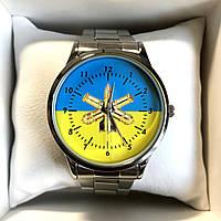 Часы наручные Q&Q с логотипом ЗРВ (Зенітні ракетні війська), фото 1
