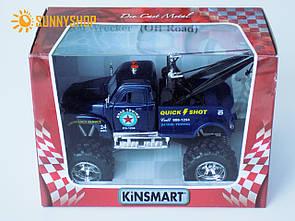 Металева машинка евакуатор Kinsmart Chevrolet KT5333W