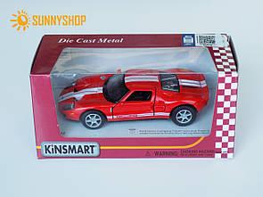 Металлическая машинка Kinsmart Ford GT KT5092W