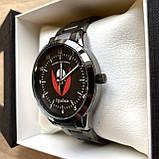 Часы наручные Q&Q с логотипом Бригада імені Чорних Запорожців, фото 2
