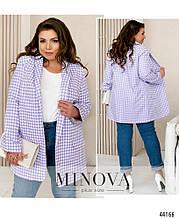 Жіночий піджак - №17246-1, у розмірах 48-62