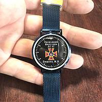 Часы наручные Q&Q с логотипом ДСНС (Державна служба України з надзвичайних ситуацій), фото 1